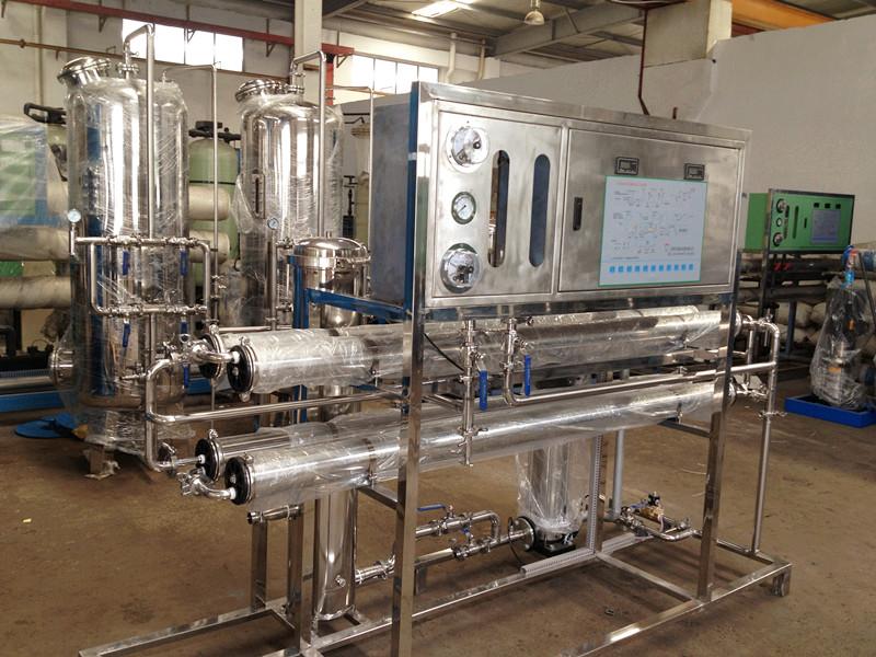 纯化水设备主要用途和工艺流程概况