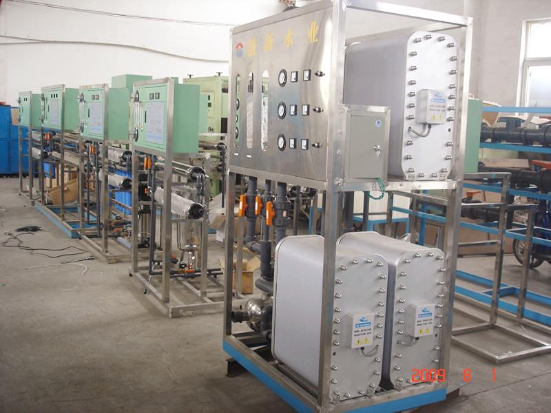EDI超纯水设备优点和工作过程