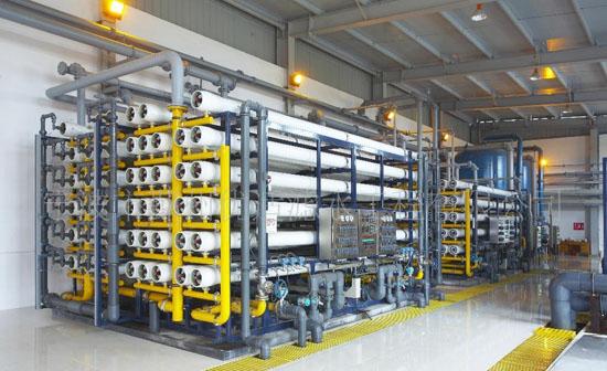 纯水设备冬天防冻常识