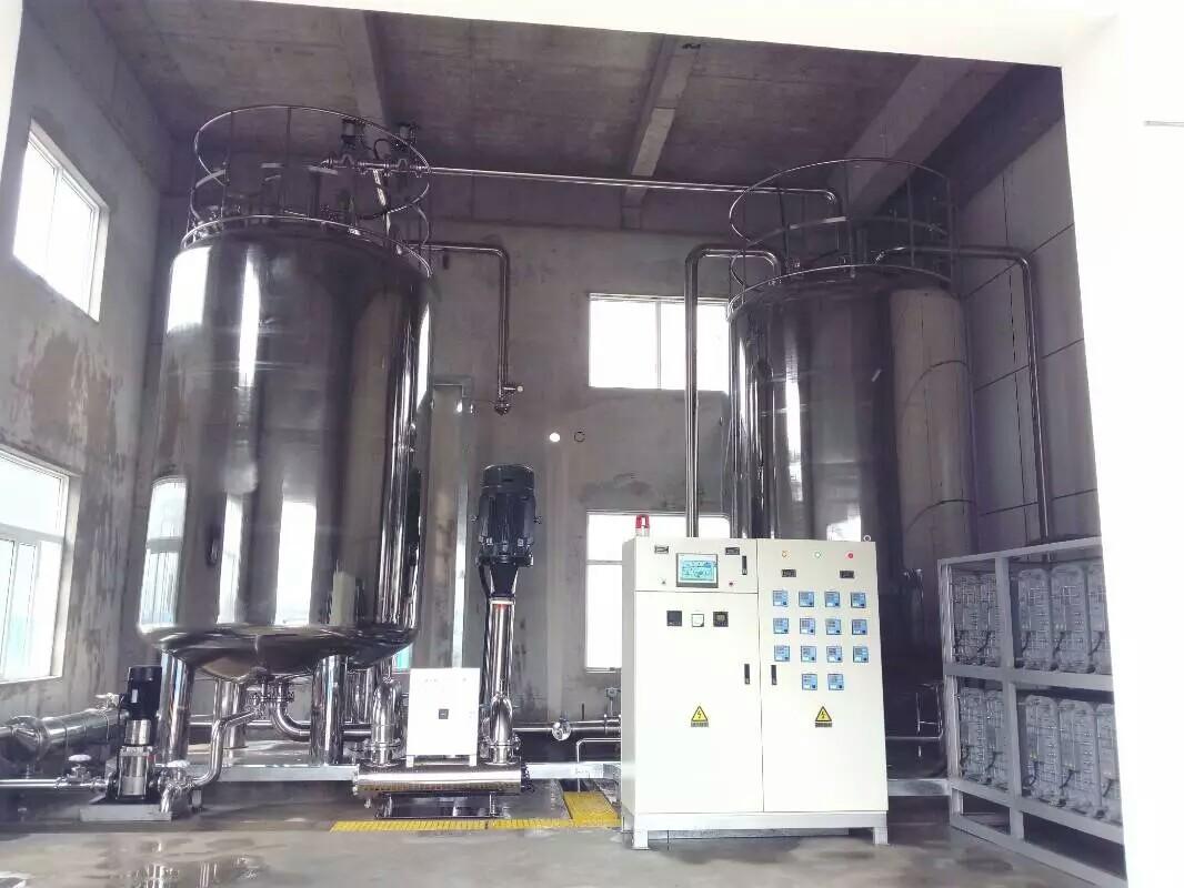 纯水设备中储罐的种类