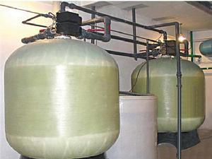 新装软化水设备第一次试水的硬度超标准的缘故